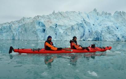 Cursos específicos para viajeros que vayan a realizar rutas de kayak en Groenlandia